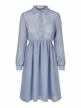 Nilla dress dusty blue