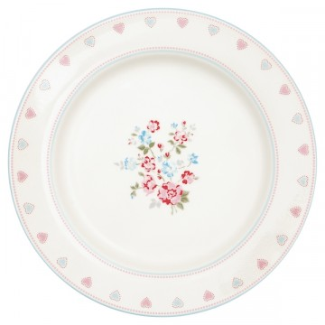 Sonia white dinnerplate