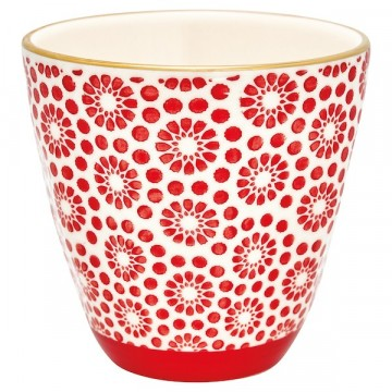 Cup Kelly red with gold