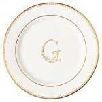G gold small plate