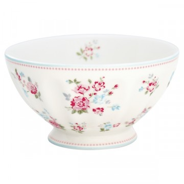 Sonia white french bowl XL