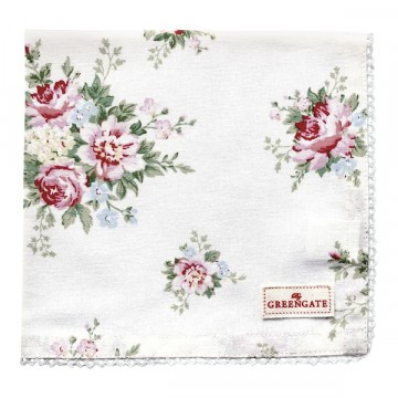 Bread basket  napkin aurelia white