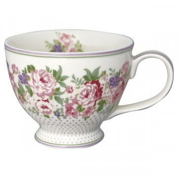 Teacup rose white
