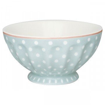 Spot pale blue french bowl xl